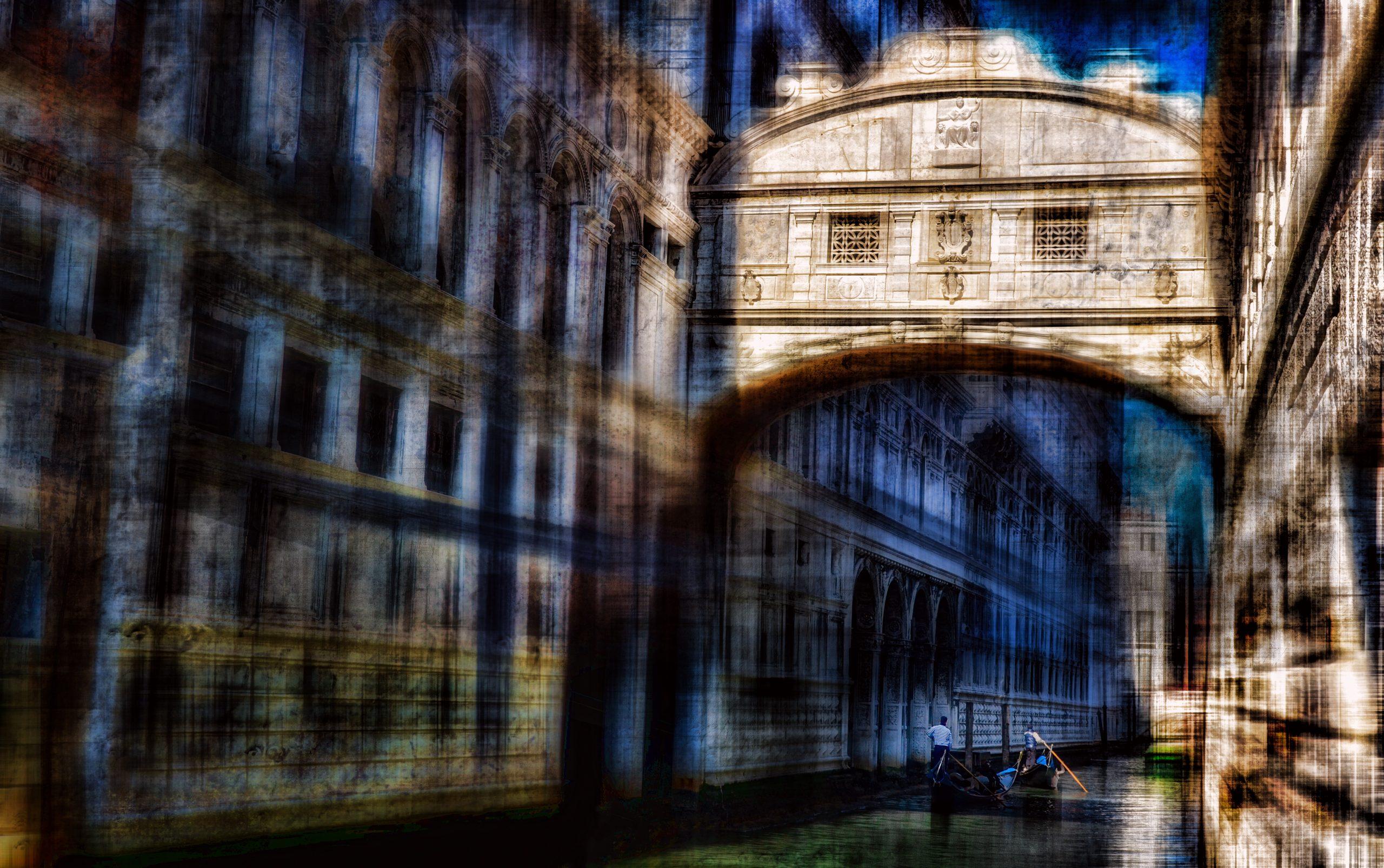 Venise le pont des soupires